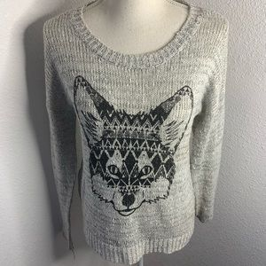 Almost Famous Grey Fox Sweater